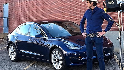 Do good and enter for a chance to win Musk's Tesla Model 3