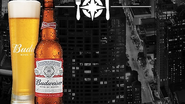 Things to do on Monday night: Dinner at a secret location with Budweiser