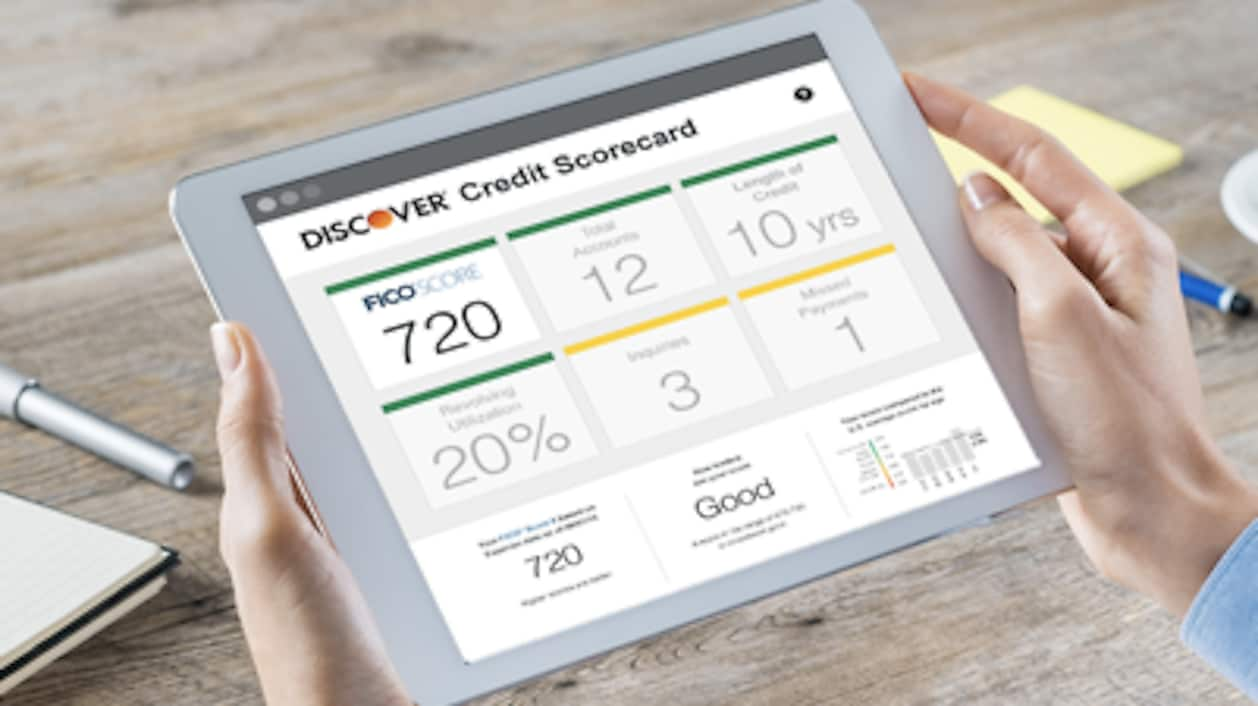 See How Discover Makes Checking Your Credit Score Easy