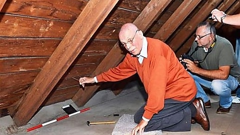 Man Pulls Hidden String In Attic And Discovers Secret Room Filled With...