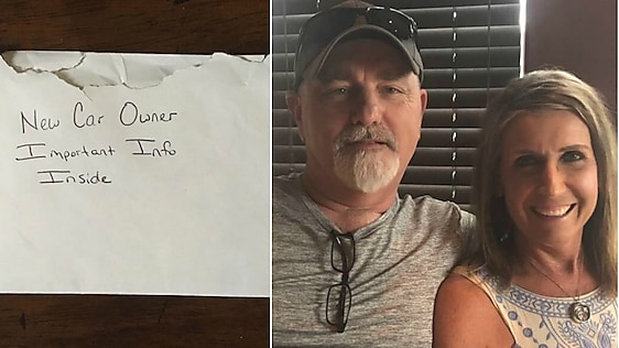 Dad Buys Car For His Daughter, Then Finds Heartbreaking Note Inside