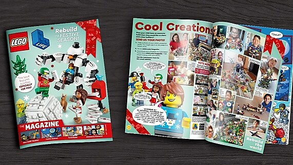 Get a FREE LEGO® Magazine for Your Child!