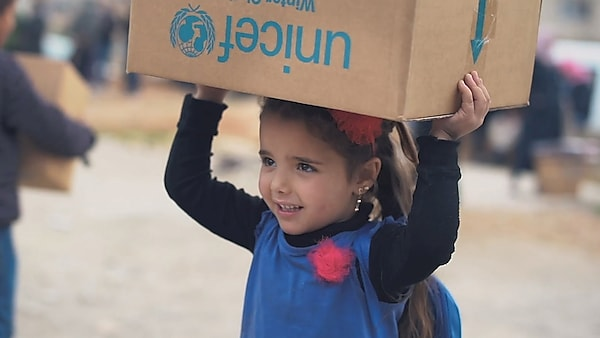 Watch UNICEF spring into action